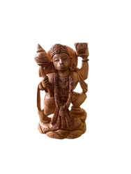 Hanuman Ji wooden Murti 5 inch