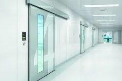 Aluminum Automated Sliding Door