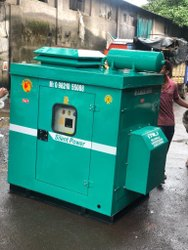 BAJAJ-M 20 KVA Bajaj Silent Diesel Generator Set, Single Phase