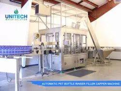 40 BPM Automatic Pet Bottle Filling Machine