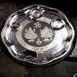 Silver Finished Pooja  Article