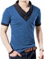 Blue Summer School T- Shirts, Size: 18-42