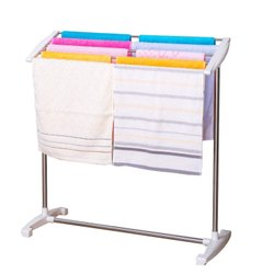 Multi-Functional Mobile Foldable Balcony Towel Stand