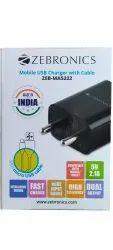 Zebronics ZEB-MA5222 Mobile USB Charger