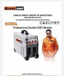 ONIR-400 Professional Double IGBT Module Welding Machine