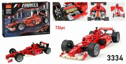 Formula Racing Car Lego Block Toy