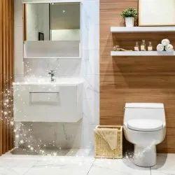 Washing Bathroom Deep Cleaning