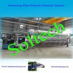 Dewatering Filter Press for Chemical Industry
