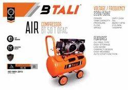 Oil Free Compressor 50 Ltr Double Head