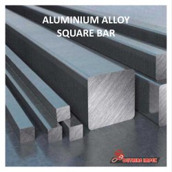 Aluminium Alloy 6000 Series Square Bars