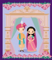 Wedding Cards Printing Service, 2 Leaflet