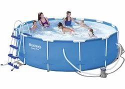 Bestway 12Ft. Round Max Frame Pool with Filter
