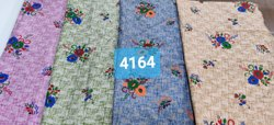 Regular 4164 Rayon Printed Kurtis Fabric