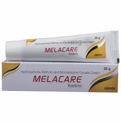Melacare Hydroquinone Tretinoin Mometasone Furoate Cream, Packaging Type: Tube, Packaging Size: 20 Gm