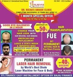 Dr Richa's Hair Transplantation