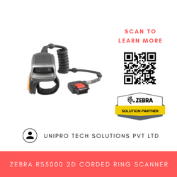Zebra RS5000 2D Corded Ring Scanner