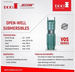 Agriculture Vertical Openwell Pumps
