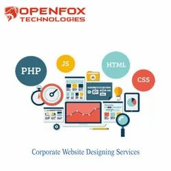PHP/JavaScript Dynamic Corporate Website Designing Services, With Online Support