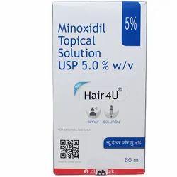 Hair 4 U ( Minoxidil Topical Solution USP 5.0 W/V )