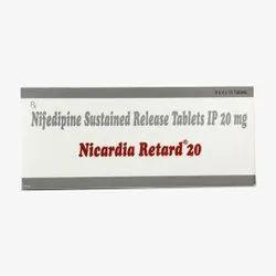 Nefidipine Rtd 20mg Tablet