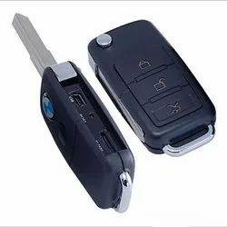 Black 720P Spy Keychain Camera, For Security