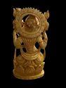 Laxmi Ji wooden 8 inch