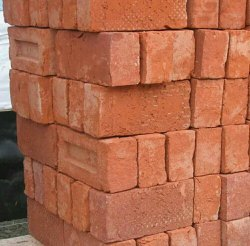 Clay Construction Red Brick
