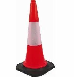 Rubber Base Traffic Cone