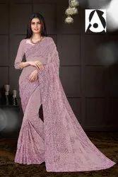 Fancy Wear Net Saree