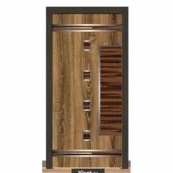 Polished PVC Membrane Door