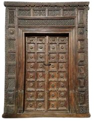 200X290X30 Inches Teak Wood Door, For Home