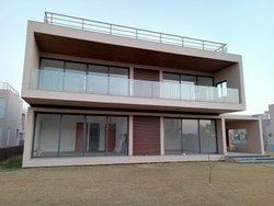 Window 15mm Transparent Glass Balcony Railing, For Home,Hotel