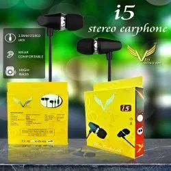 Wired Mobile i5 stereo earphone