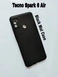 Plastic Black Tecno Spark 6 Air Cover