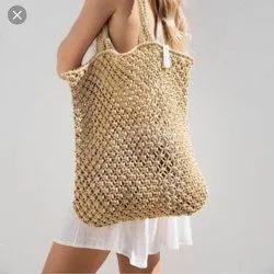 Aviana Fashionex Brown Ladies Straw Hand Bag