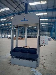Jute Packing Bale Press Machine