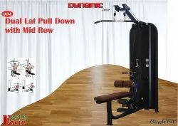 DUAL LAT PULL DOWN WITH MID ROW
