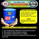 250 Kg Natural Spray Lacquer Polish