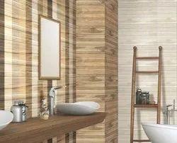 Kajaria Ceramic Mosaic 4 Mm Bathroom Wall Tiles, Size: 40*80cm