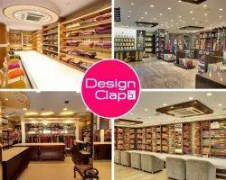 Saree Showroom Interior Designing Service