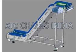 Food Process Modular Belt  Z Type Conveyor