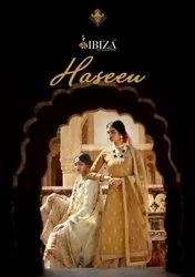 Ibiza Suit Haseen Russian Silk Fancy Embroidery With Diamond Salwar Suit Catalog