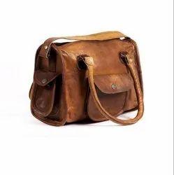 Shoulder bag Brown Leather Ladies Purse
