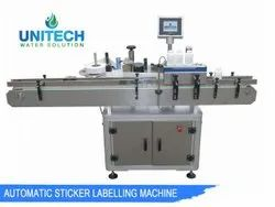 Automatic Vertical Single Side Sticker Labeling Machine