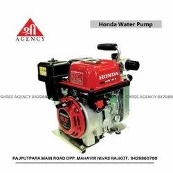 2HP Honda Wb15x Petrol Water Pump Set, 2 - 5 HP