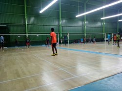 Wooden Sports Badminton Court Flooring