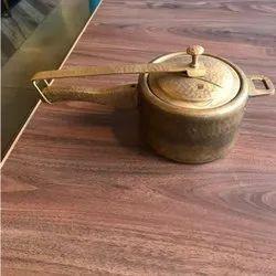 Brass Cooker, For Restaurant, Capacity: 10 Liters