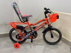 Harman Steel Orange Kids Cycle, 16 inch