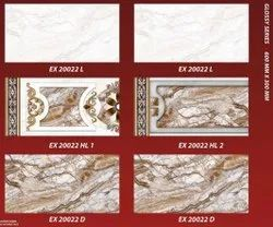 Zeric Wall Backsplash Tiles, Size: 30 * 60 in cm, Thickness: 5-10 mm