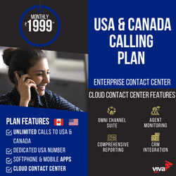 VoIP International Calling Services - USA & Canada
